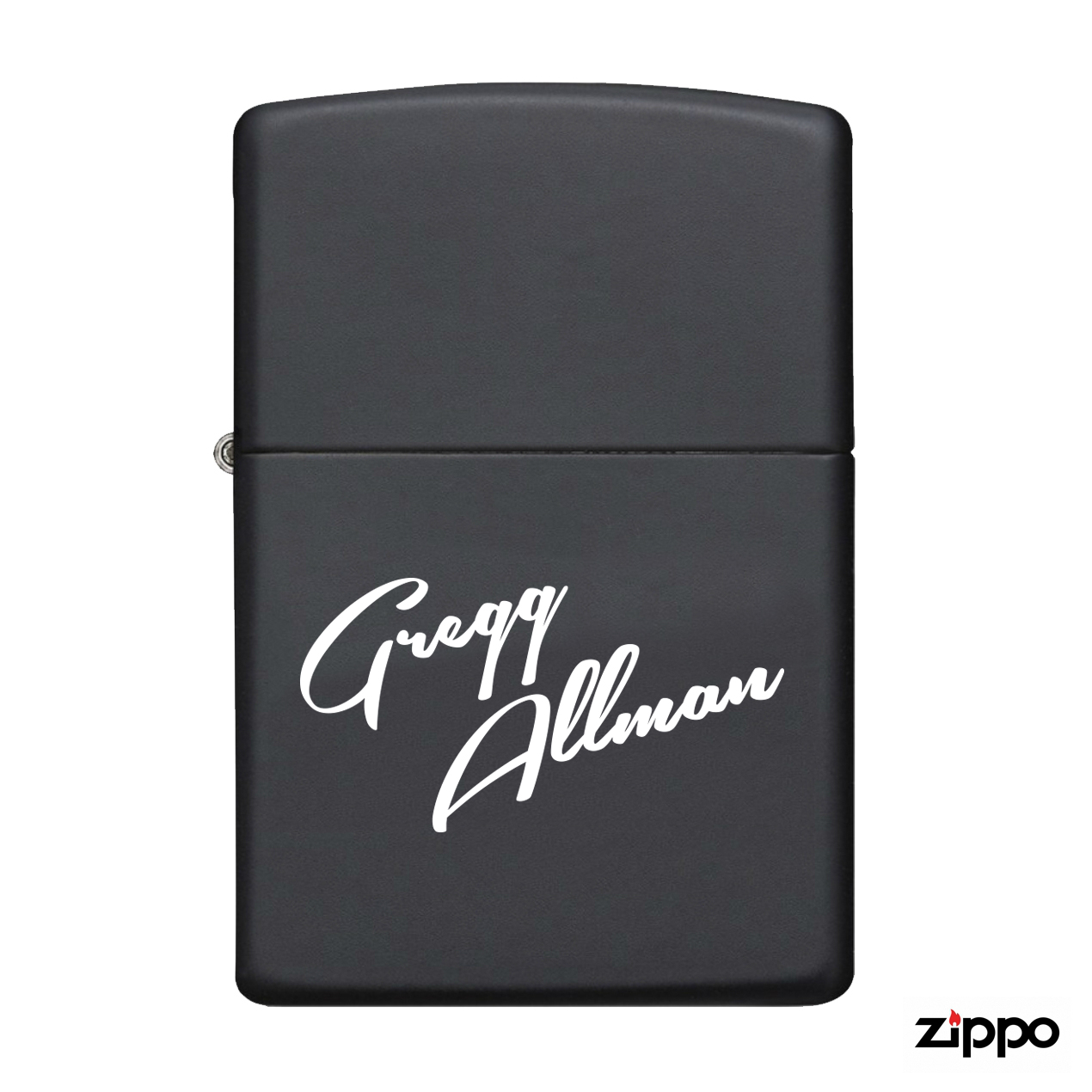 "Gregg Allman ""Blues-Flavored"" Zippo Lighter"