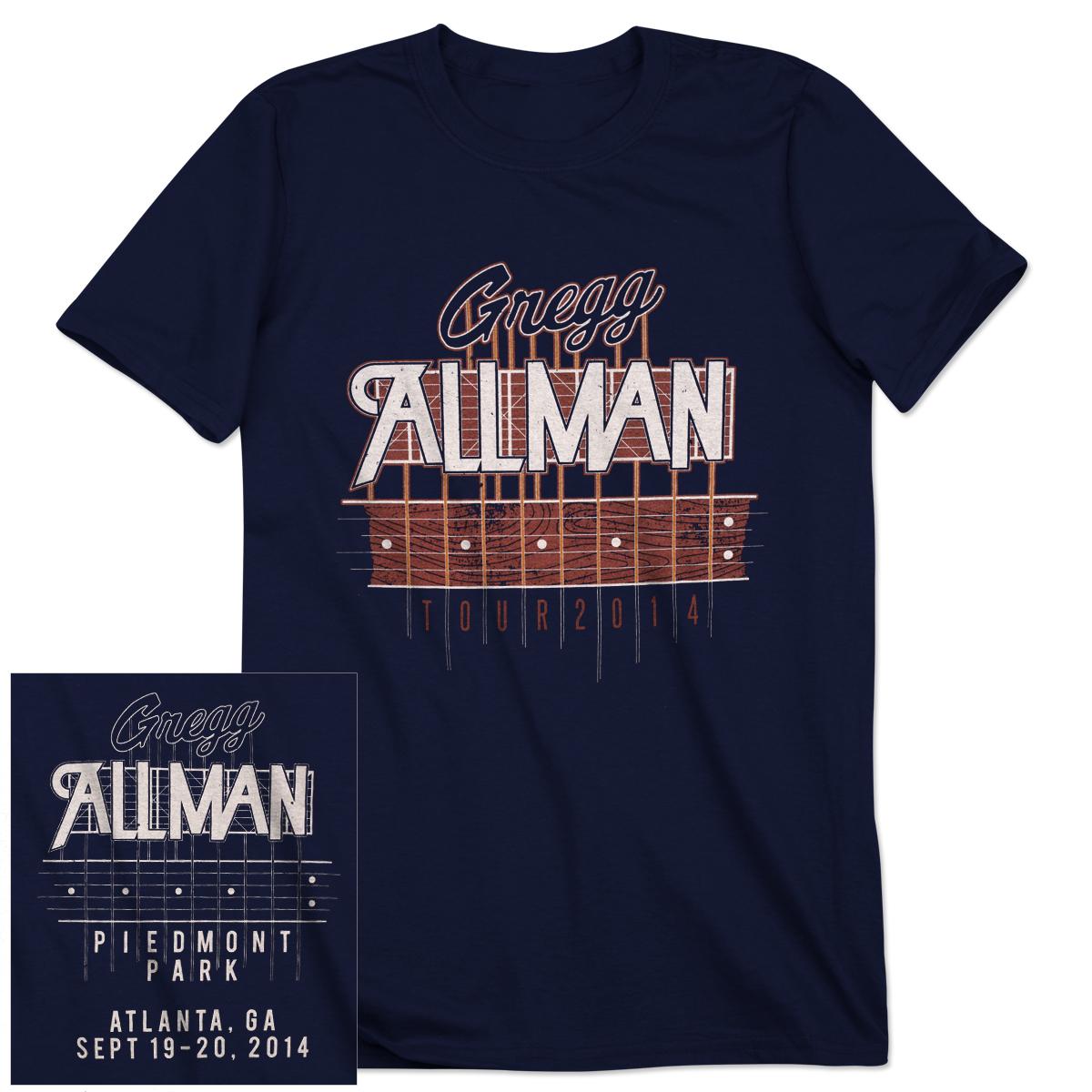 Gregg Allman Atlanta Event T-Shirt