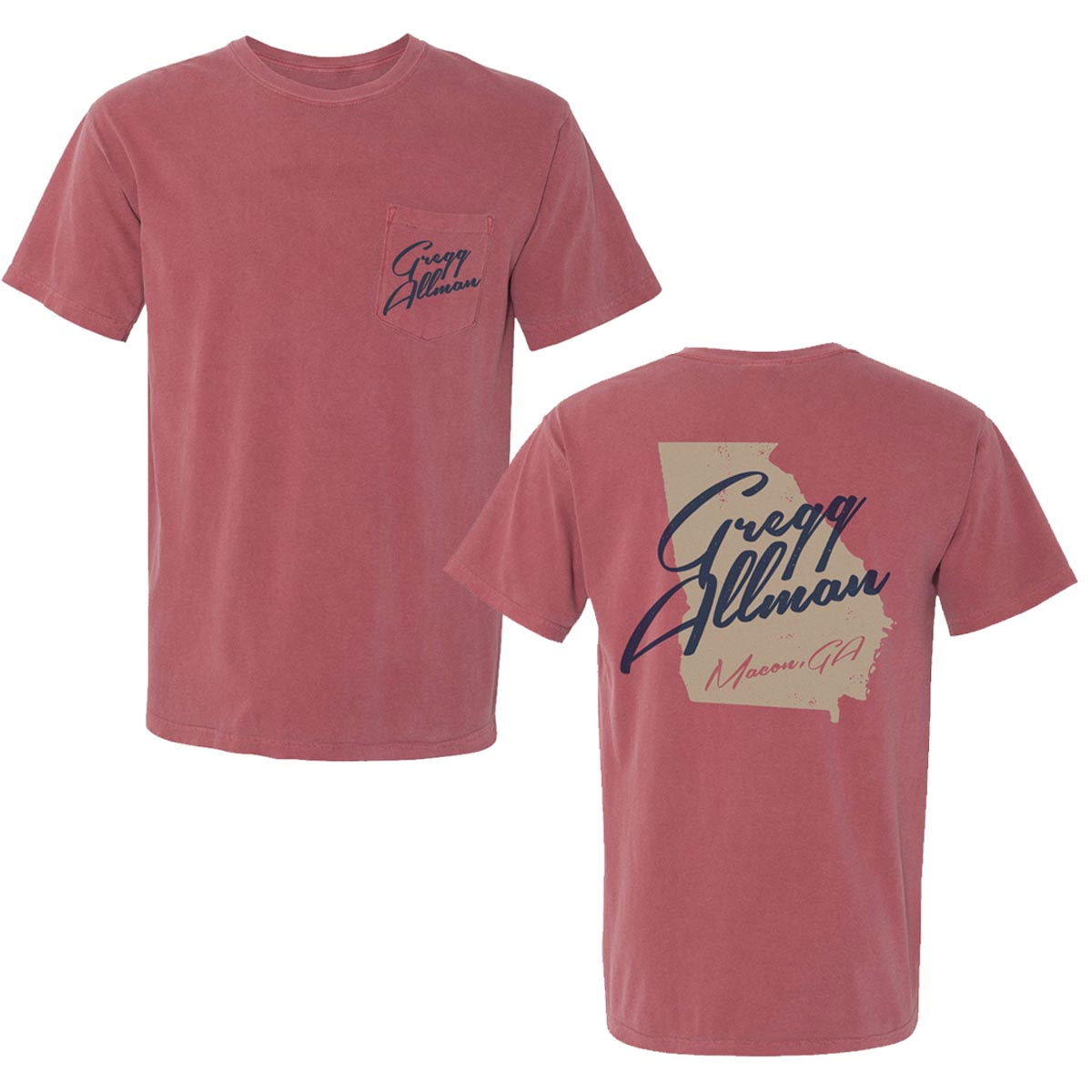 Macon, GA Pocket T-Shirt