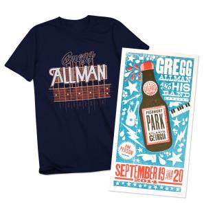 Gregg Allman Atlanta Event Combo