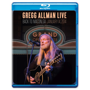 Gregg Allman Live: Back to Macon - Blu Ray
