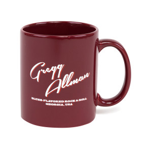 "Gregg Allman ""Blues-Flavored"" Mug - Red"