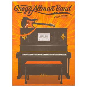 Gregg Allman Northfield Event Poster