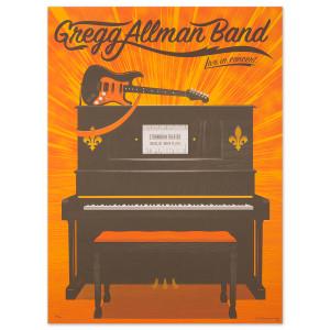 Gregg Allman Toledo Event Poster