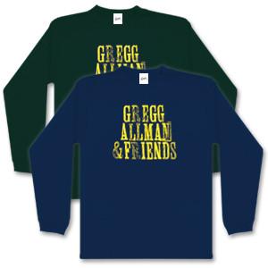 Gregg Allman and Friends Longsleeve T-Shirt