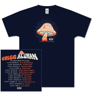 Gregg Allman 2008/09 Winter Tour Shirt