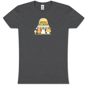 Gregg Allman Women's 20087/09 Winter Tour shirt