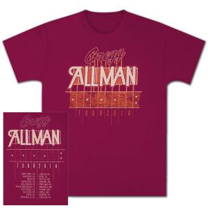 Gregg Allman 2014 Tour T-Shirt