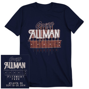 Gregg Allman Atlanta Event T-Shirt