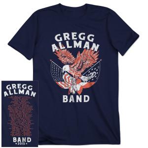 Gregg Allman 2015 Tour Shirt