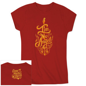 Gregg Allman I'm No Angel Ladies Tee