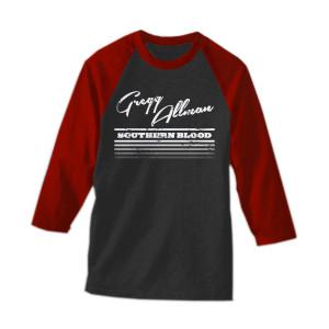 Southern Blood Baseball 3/4 Sleeve T-Shirt