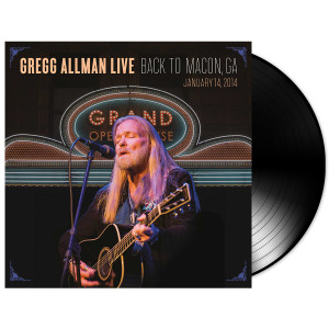 Gregg Allman Live: Back to Macon - Vinyl LP