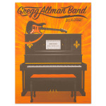 Gregg Allman Chicago Event Poster