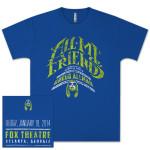 Gregg Allman All My Friends Tribute Concert T-Shirt