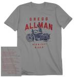 Gregg Allman Midnight Rider Tee