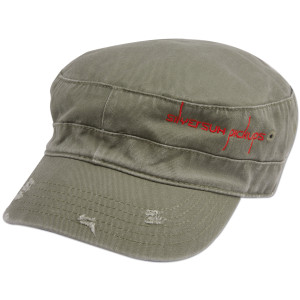 Silversun Pickups Distressed Logo Cadet Hat