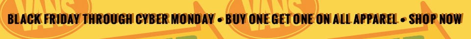 Buy One Get One Free Apparel!