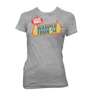 2014 Warped Tour Ladies T-Shirt