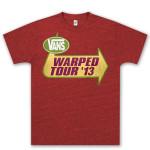 Men's Warped Tour 2013 Tour Shirt