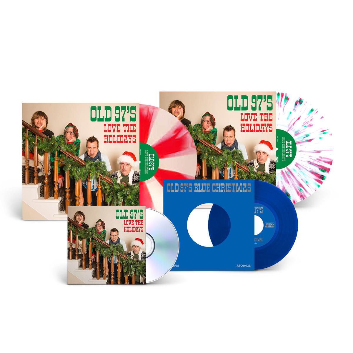 Blue Christmas Holiday Bundle