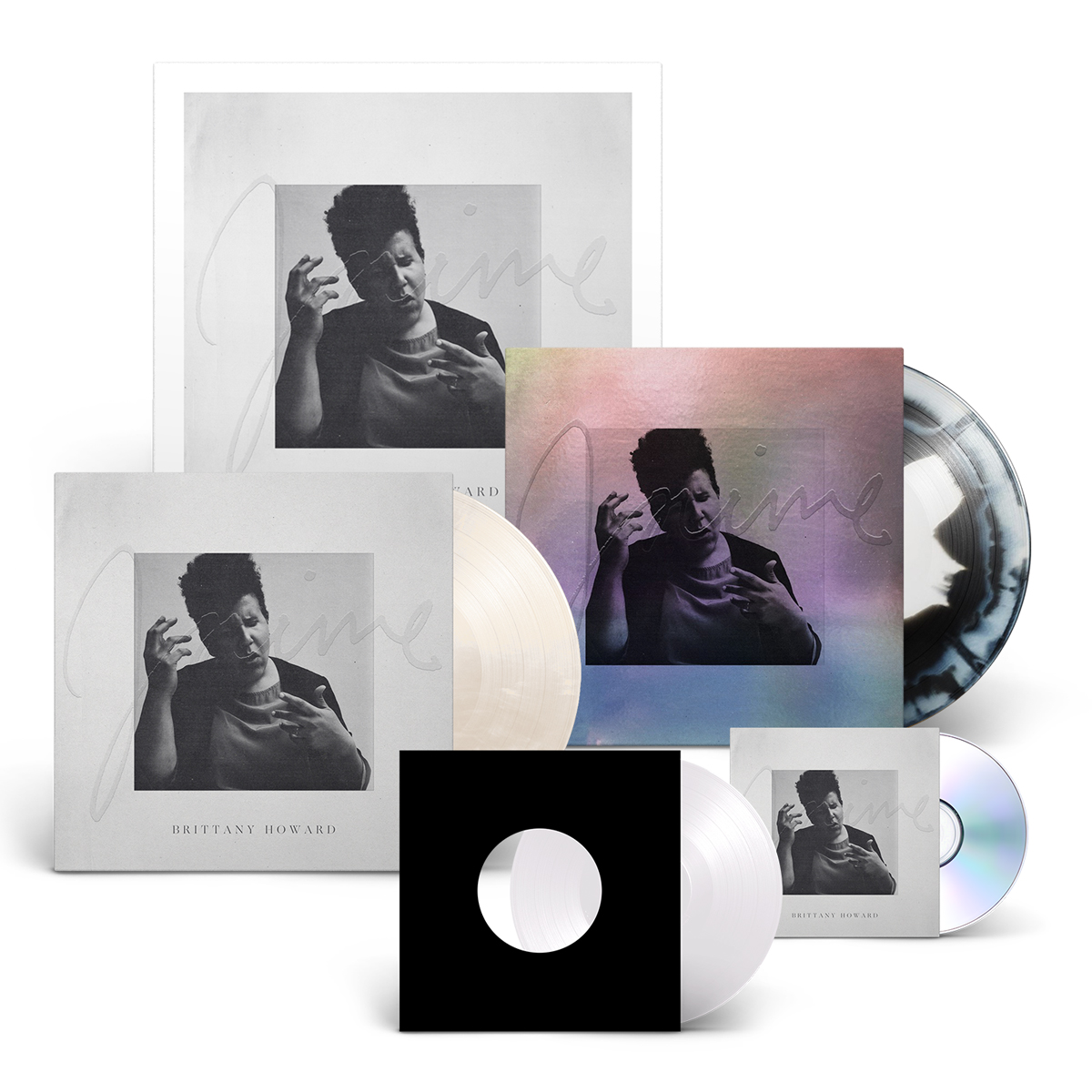"""Brittany Howard - Jaime Limited Edition Deluxe Bundle (Album + Signed Litho + 7"""") (Limited to 500)"""
