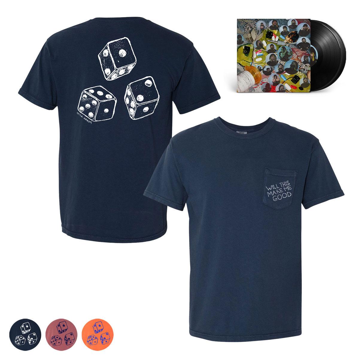 Nick Hakim - WILL THIS MAKE ME GOOD Vinyl + T-Shirt