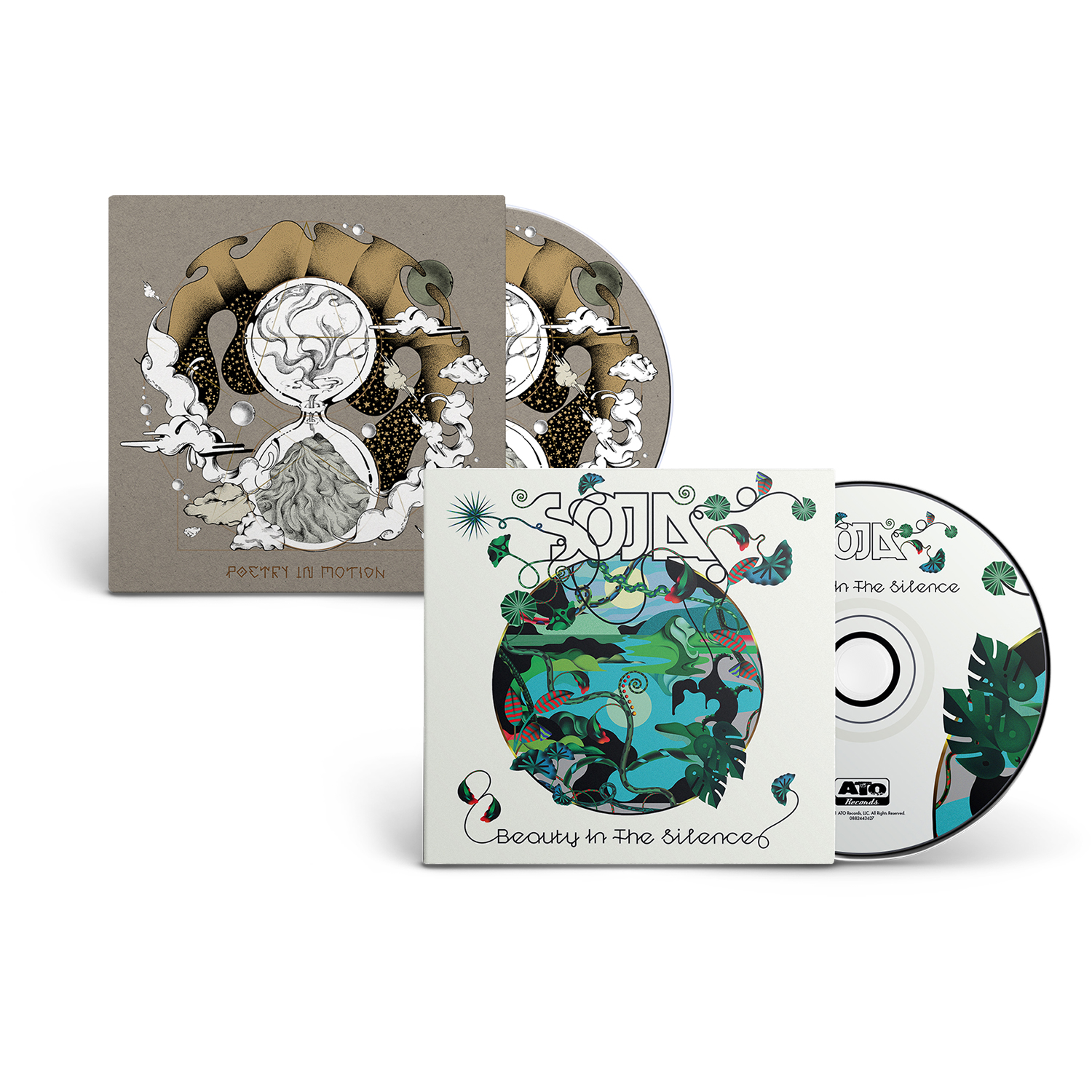 Beauty In The Silence + Poetry In Motion CD Bundle