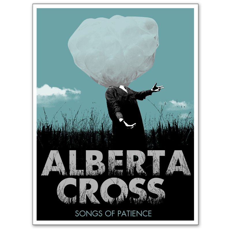 """Alberta Cross 'Songs of Patience' Limited Edition """"Autographed"""" Lithograph"""