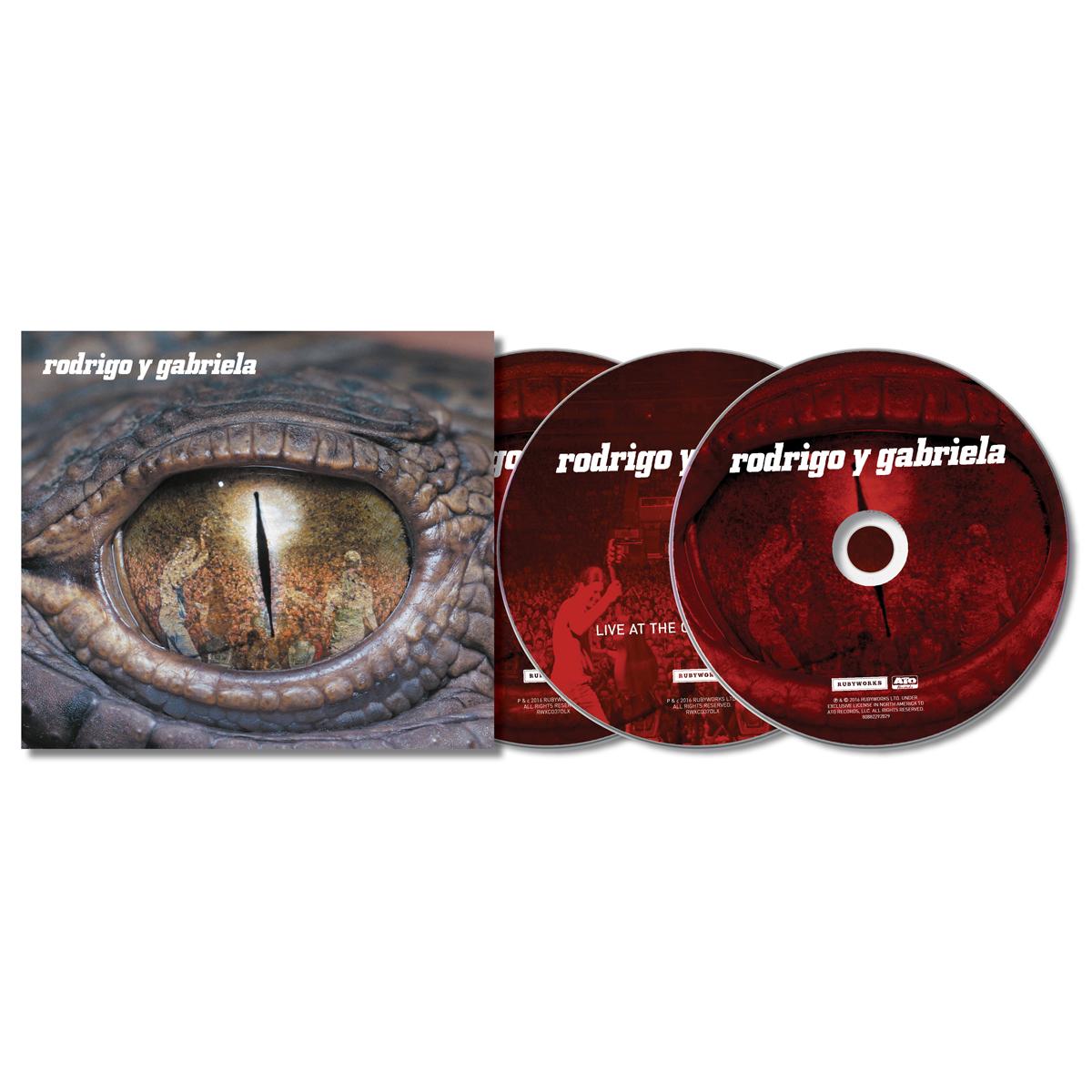 Rodrigo Y Gabriela Deluxe Edition 2cd Live Dvd Shop