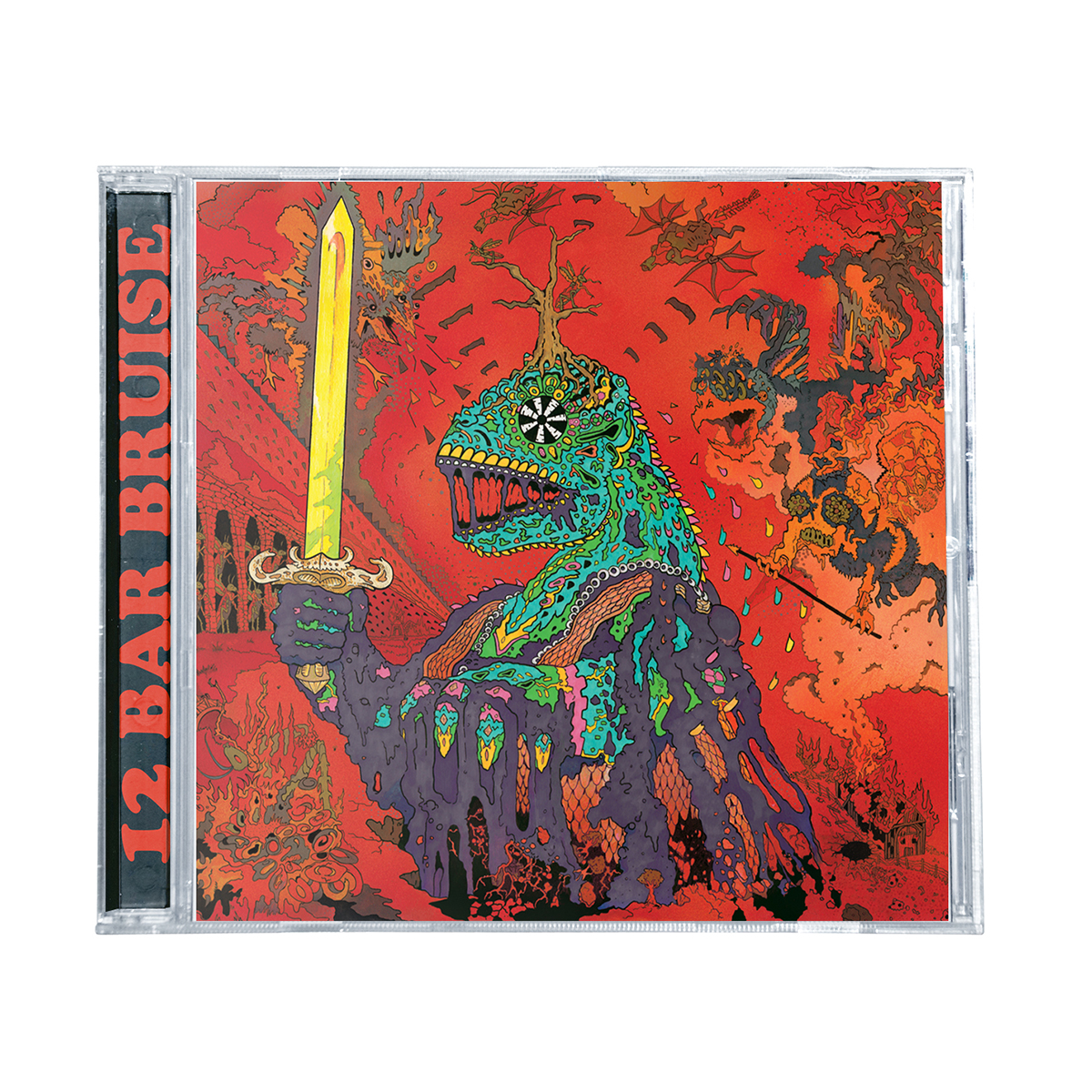 King Gizzard & The Wizard Lizard - 12 Bar Bruise CD