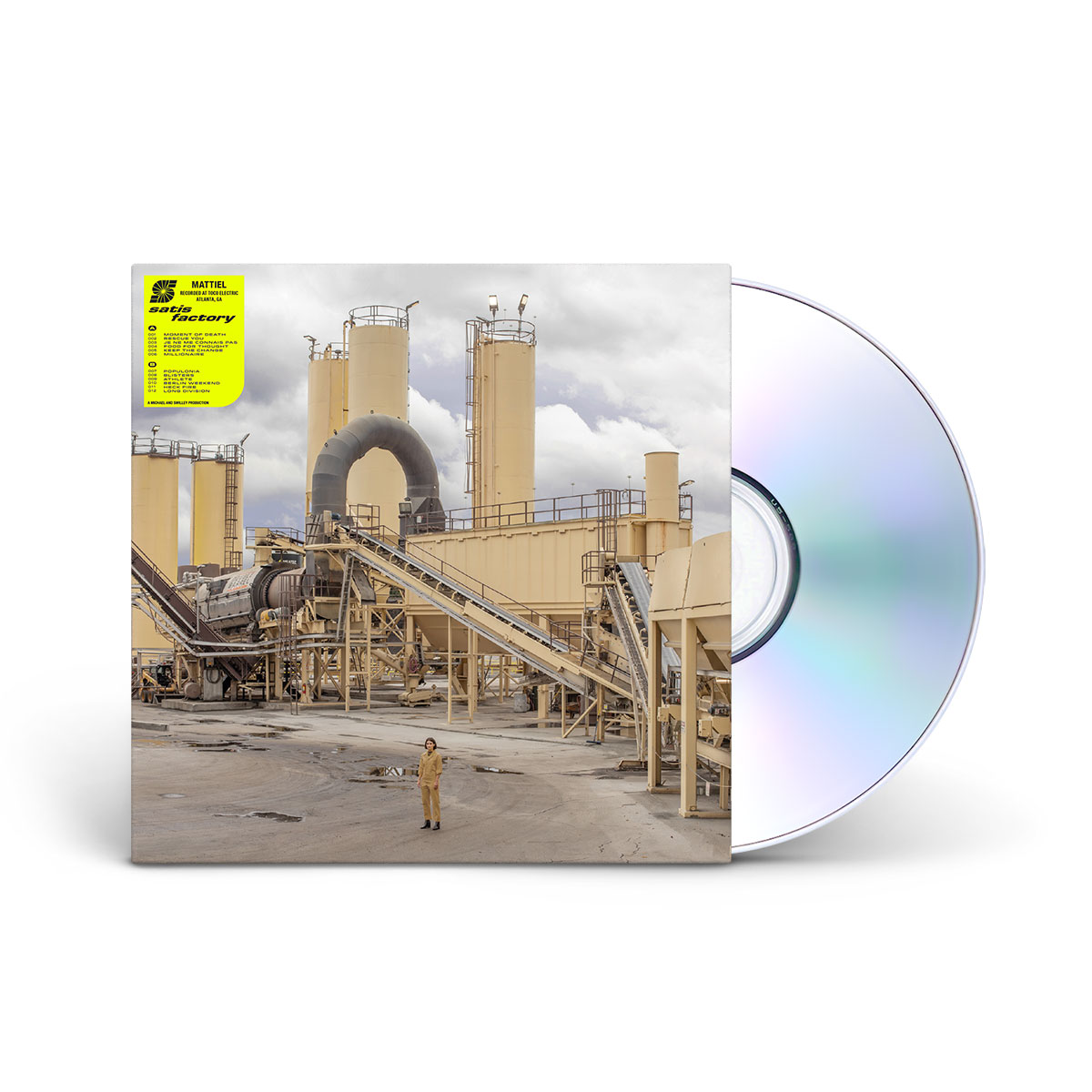Mattiel - Satis Factory CD