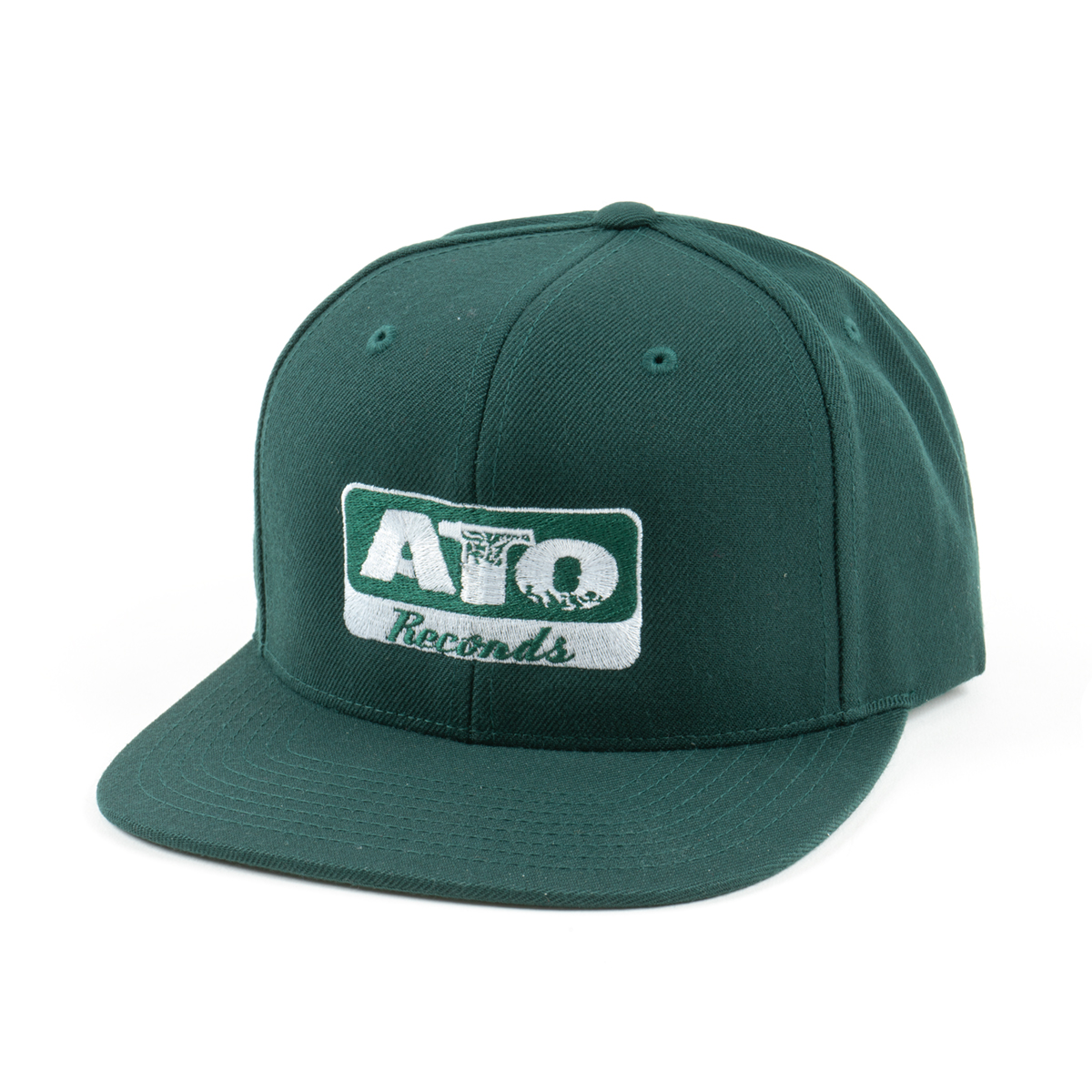 ATO Records - GREEN Snapback hat