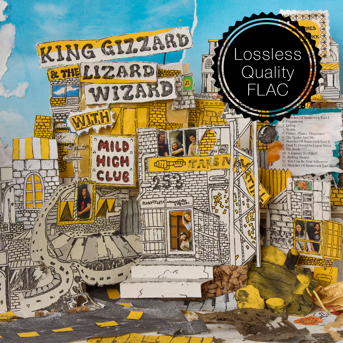 King Gizzard & the Lizard Wizard With Mild High Club - Sketches Of Brunswick East Lossless Quality FLAC