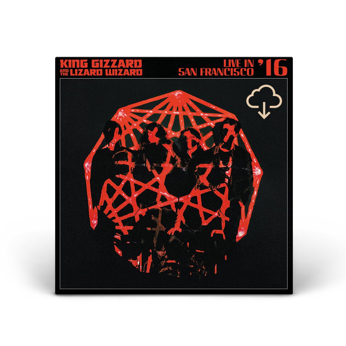 "King Gizzard & The Lizard Wizard – ""Live in San Francisco '16"" Digital"