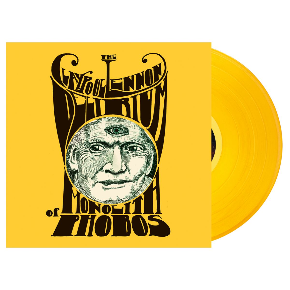 The Claypool Lennon Delirium - Monolith of Phobos Vinyl LP