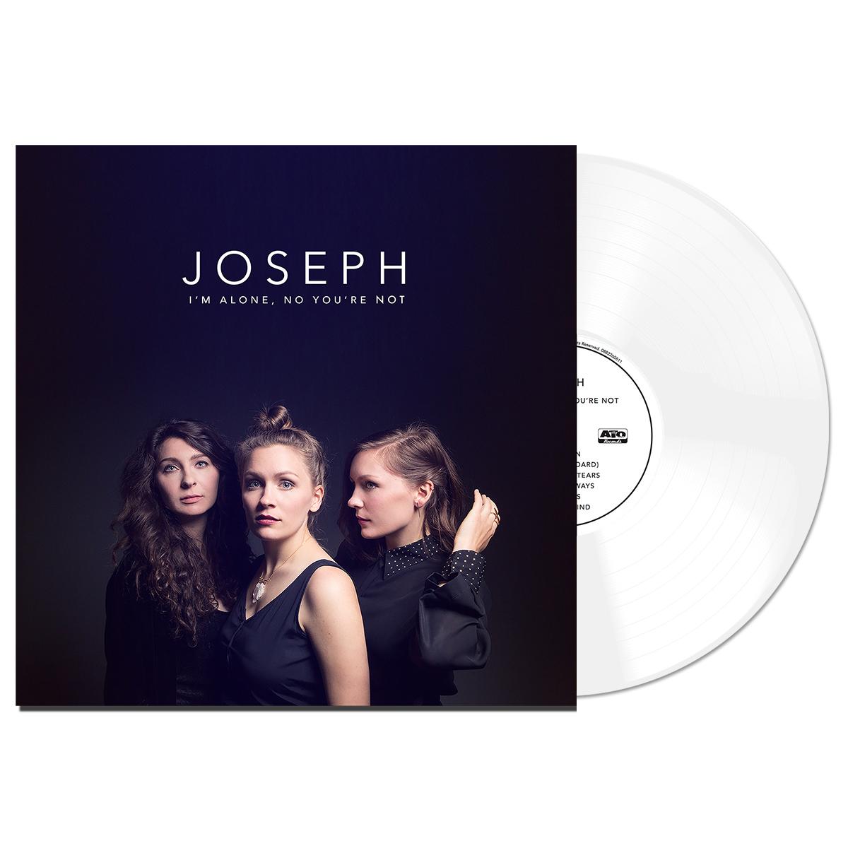 """Joseph """"I'm Alone, No You're Not"""" White Vinyl"""