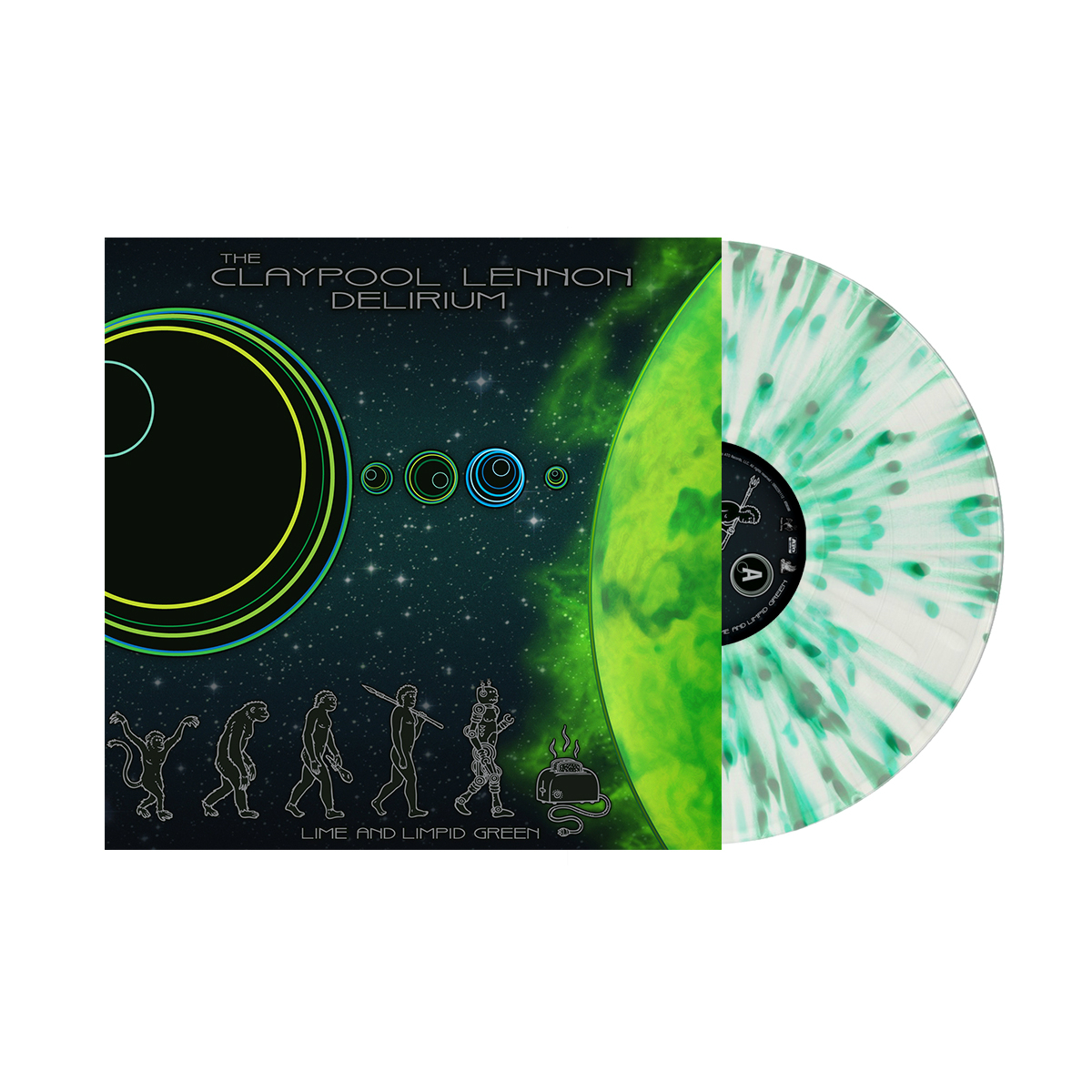 """Lime & Limpid Green"" Colored 10"" Vinyl (Pre-order, Available 8/4/17)"