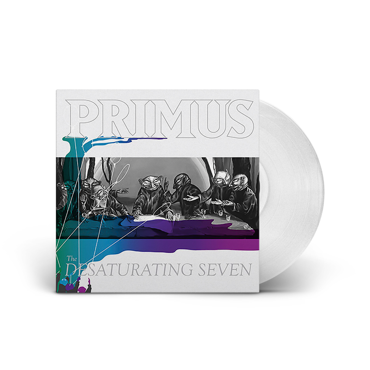 "Primus – The Desaturating Seven- Limited Edition ""Desaturated"" Vinyl"