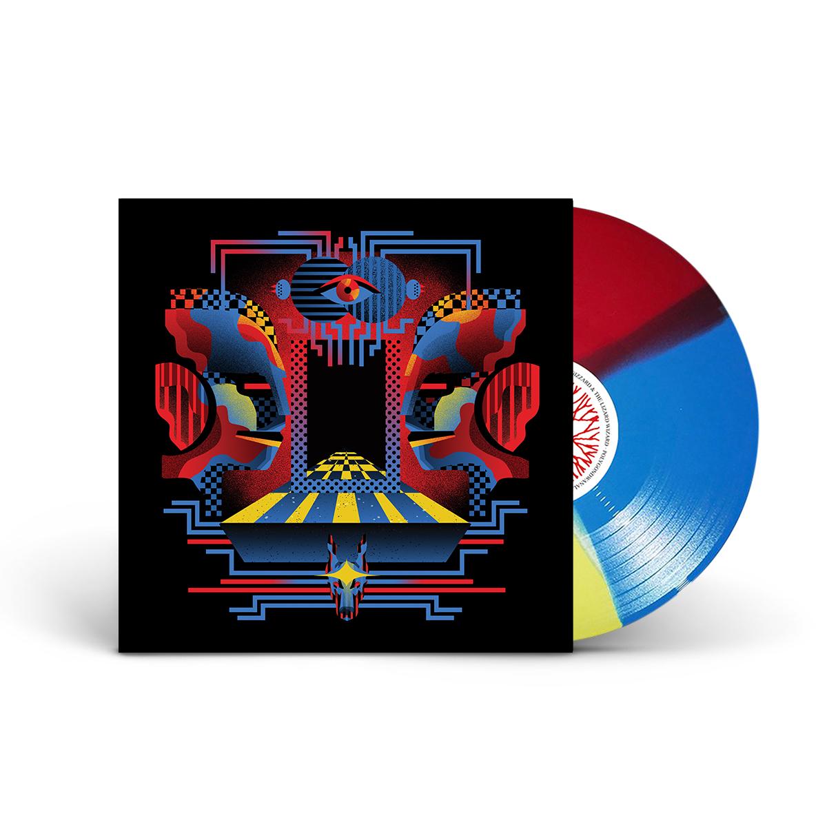 "King Gizzard & the Lizard Wizard - Polygondwanaland""Tri-Color"" Vinyl"