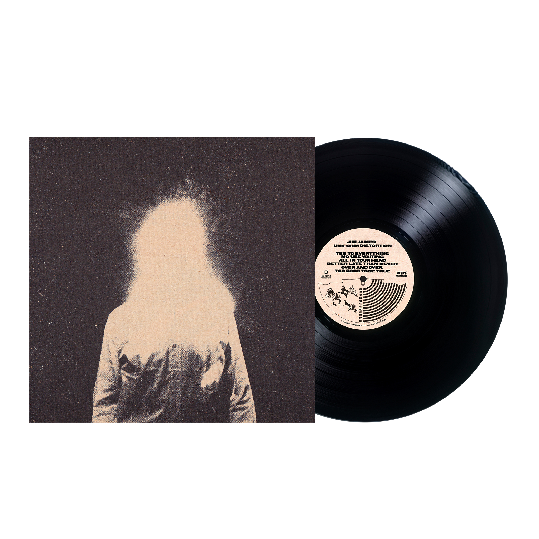 Jim James - Uniform Distortion Black Vinyl