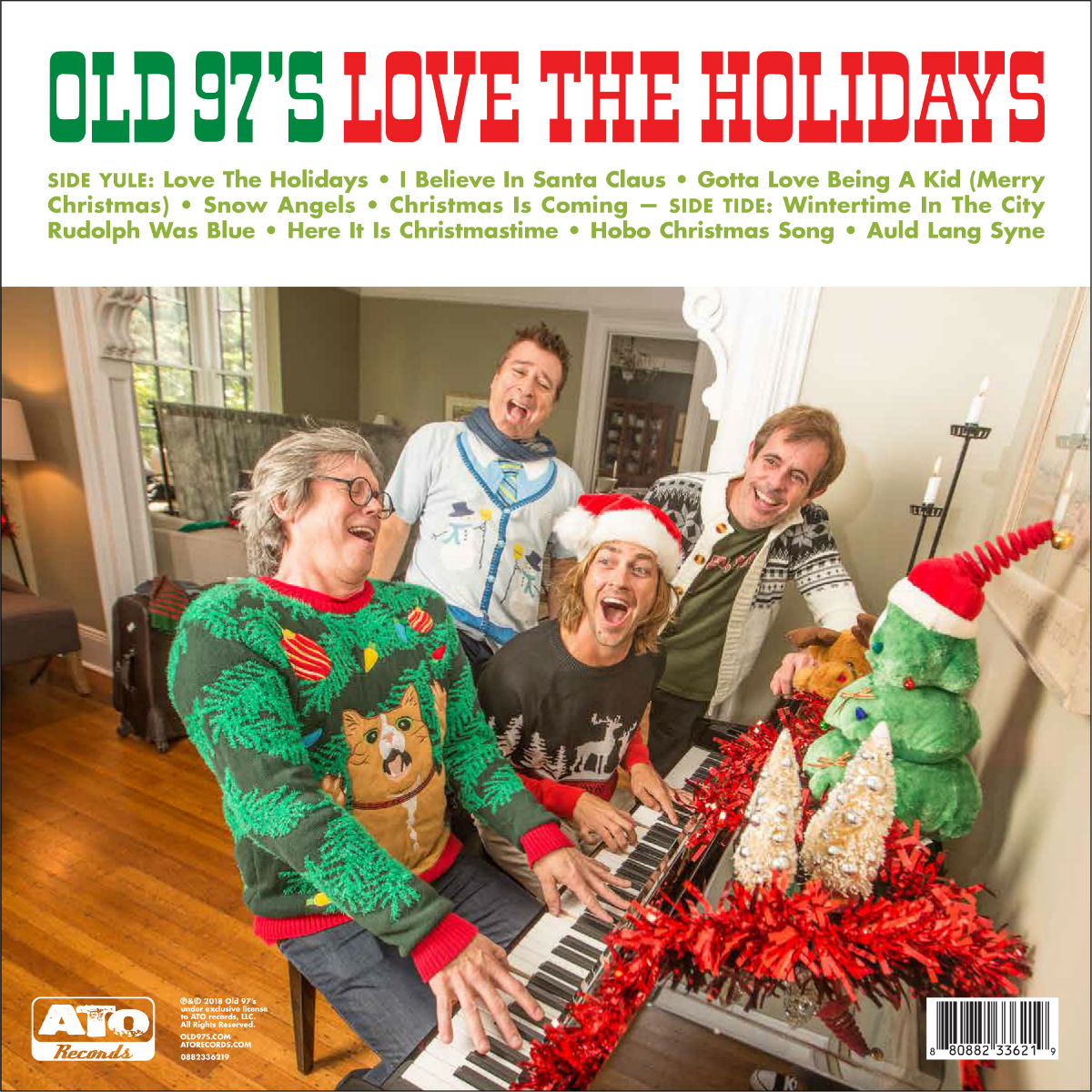 Old 97's - Love The Holidays Christmas Confetti Colored Vinyl