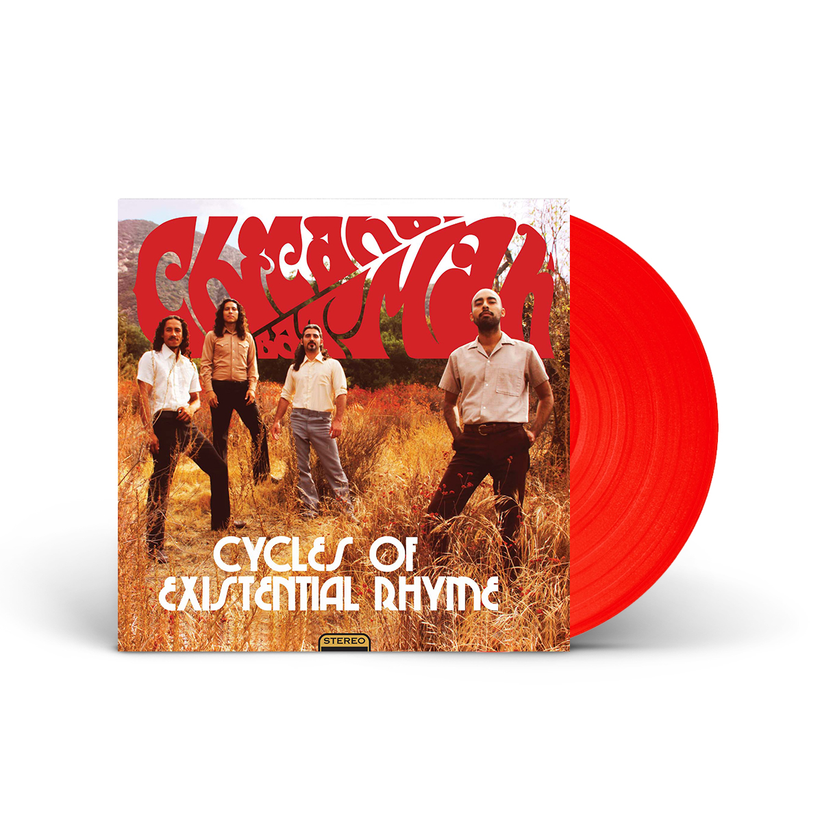 "Chicano Batman - Cycles Of Existential Rhyme 12"" – Limited Edition Red Vinyl"