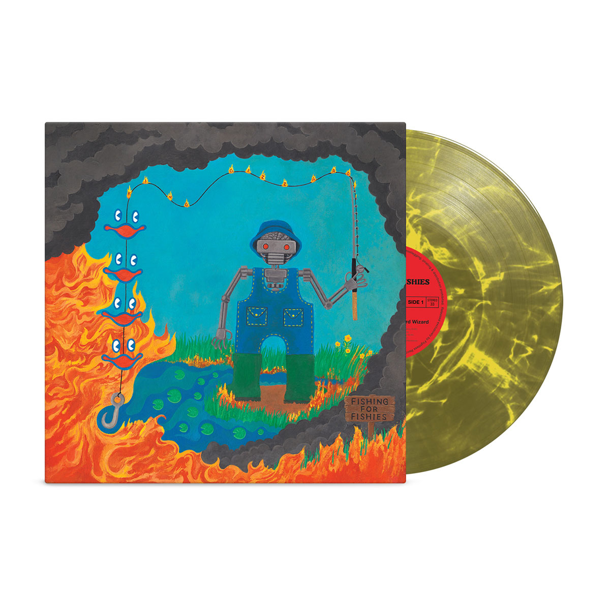 "King Gizzard & The Lizard Wizard – ""Fishing for Fishies"" (Toxic Landfill Edition) Vinyl"