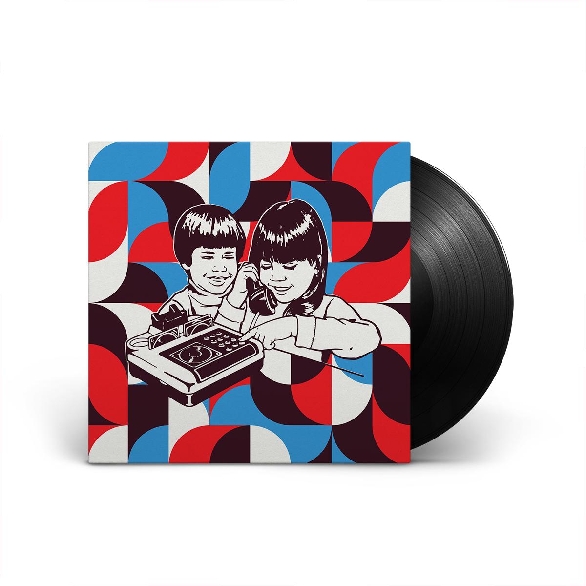 """Chicano Batman & Caloncho - Hablame b/w Corazón de Roca 7"""" Vinyl"""