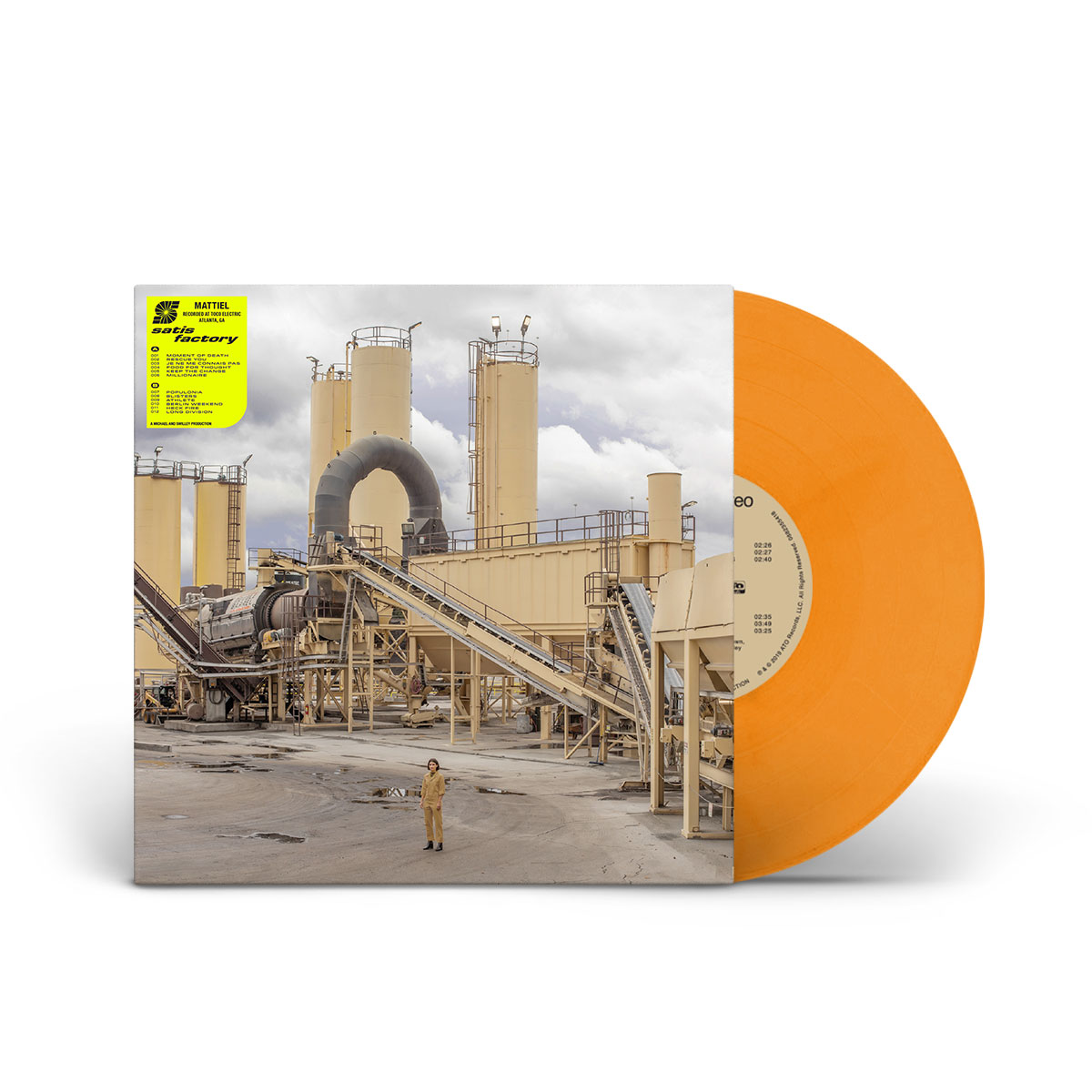 Mattiel - Satis Factory Limited Edition Safety Vest Orange LP