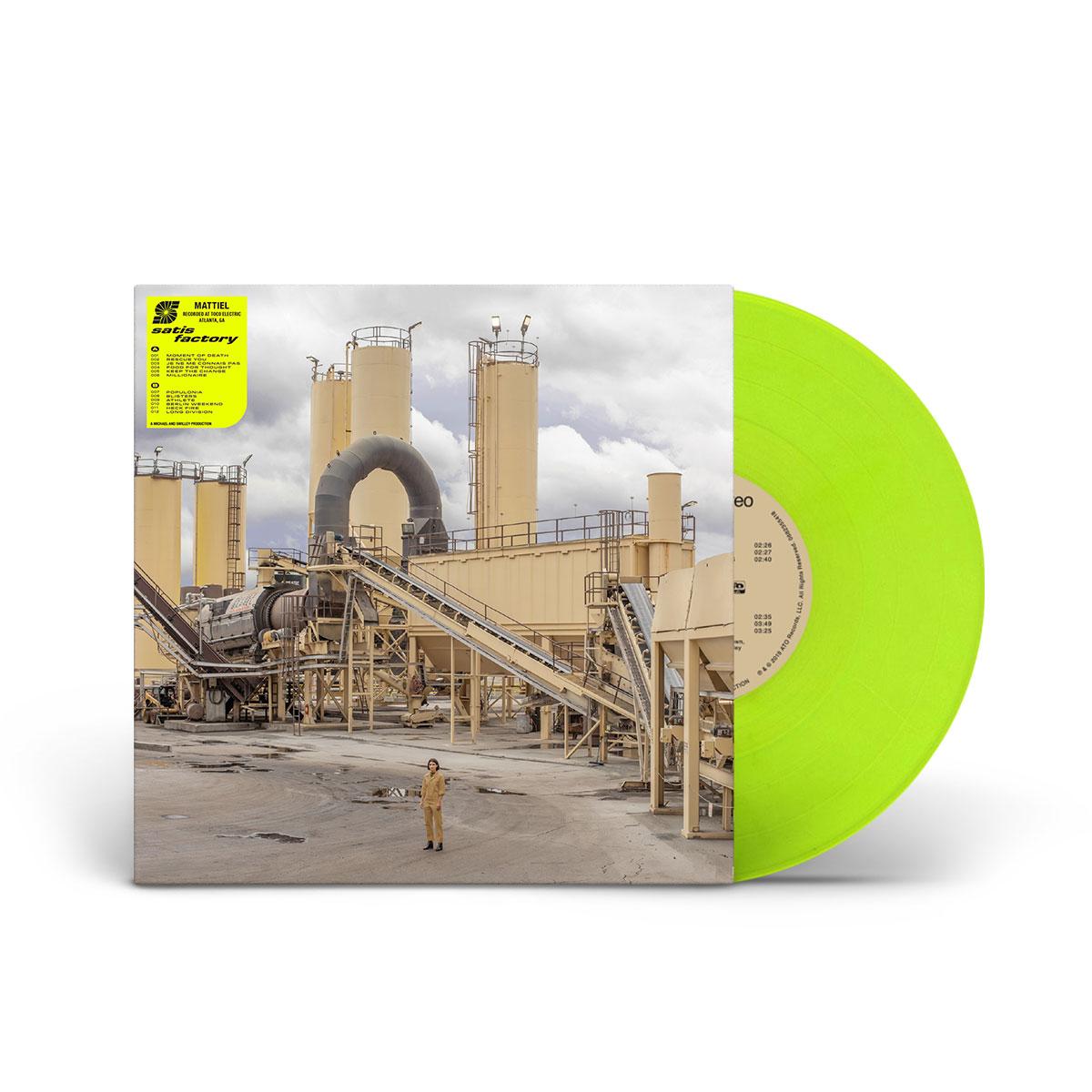 Mattiel - Satis Factory Day Glo Yellow LP