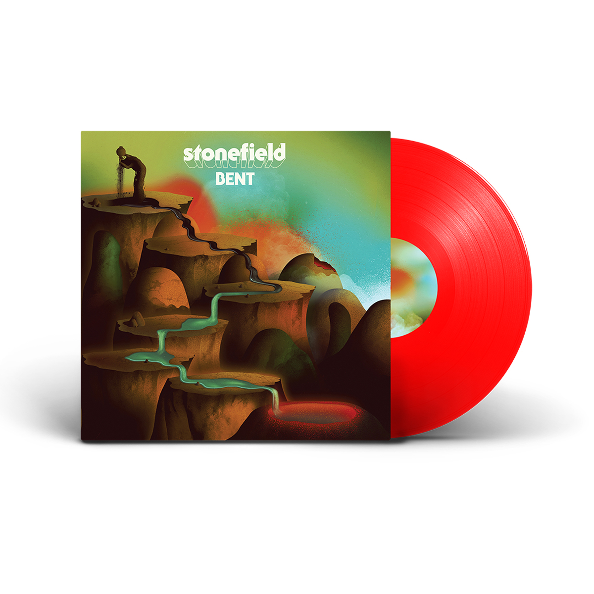 Stonefield - BENT Red Vinyl