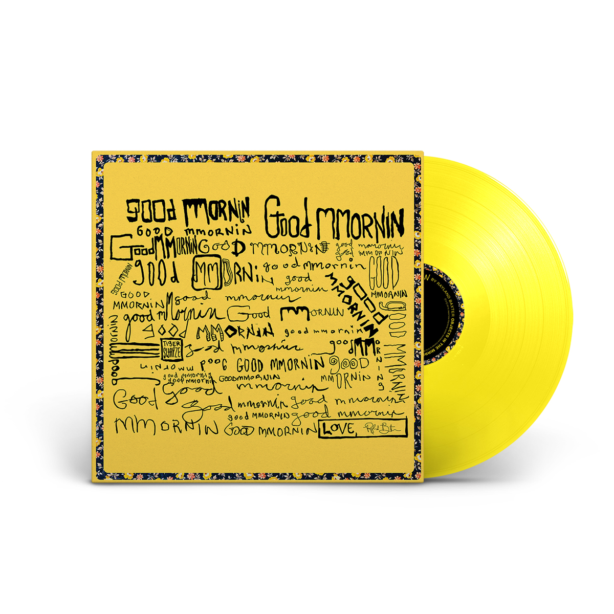 Rayland Baxter - good mmornin Limited Edition Yellow Vinyl