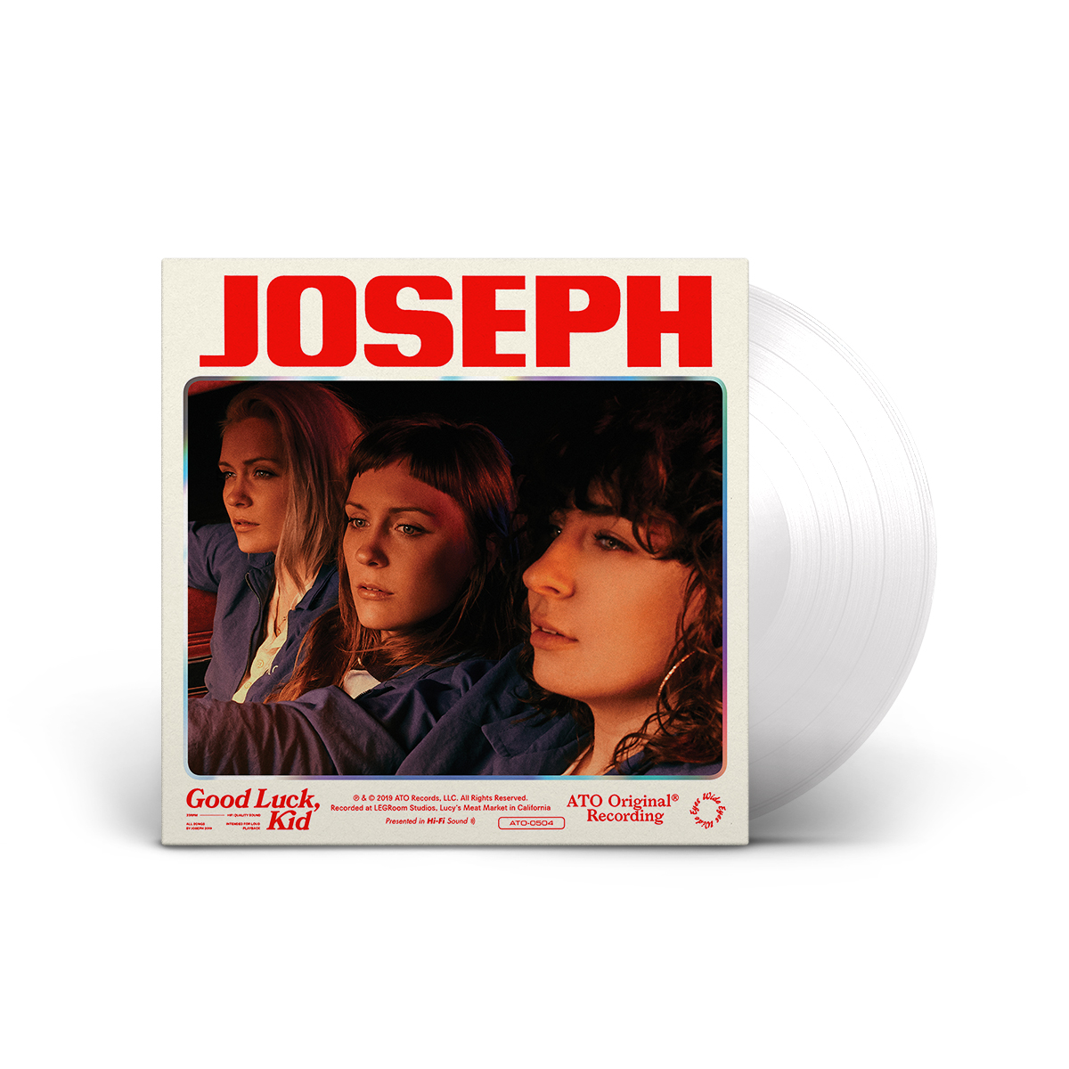 Joseph - Good Luck, Kid LP on Clear Colored Vinyl